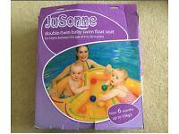 JuSonne double/twin baby swim float