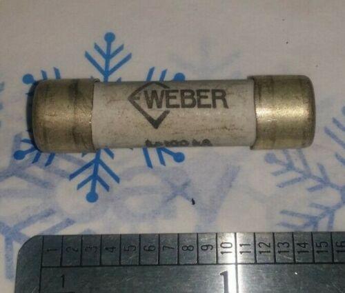 Weber 16 Amp gl 600V ch 10 Cartridge Fuse