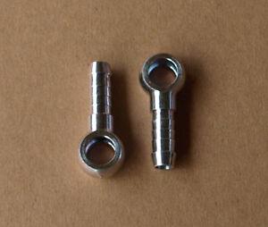 Ringschlauchnippel Ringnippel mit Ringauge 8 mm DIN 7642 DN 3/4