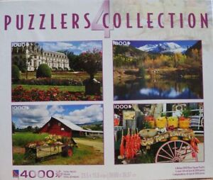 Puzzles - Set of 4 - New!