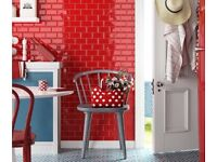 Red wall / kitchen tiles 20x10cms - 1 box = 1mtre square