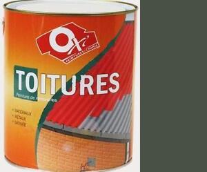 peinture toiture tole vert tuile metaux anti rouille 2 5l targol oxytol ebay. Black Bedroom Furniture Sets. Home Design Ideas