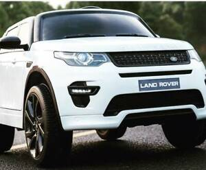 12v Licenced Land Rover Discovery Kids ride on car - White Kingsgrove Canterbury Area Preview