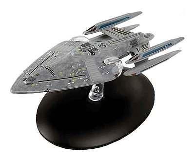 Eaglemoss Diecast ST0025 Star Trek USS Prometheus NX-59650 &  MAGAZINE #25