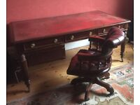 Large Partners Desk. Draws on each side big enough for two people facing each other