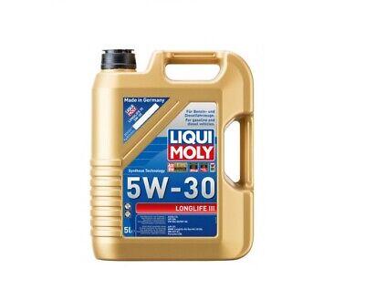 Liqui Moly 5W-30 Longlife III Motoröl, 5-Liter, VW 504 00, VW 507 00 - 20647