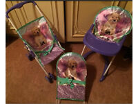 KIDS PRAM HIGH CHAIR BOUNCER ALL 3 For One Price BNWT