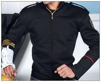 Rare MJ Michael Jackson Jam Dangerous Black Skinny Jacket And Glove Armbrace - Mj Gloves