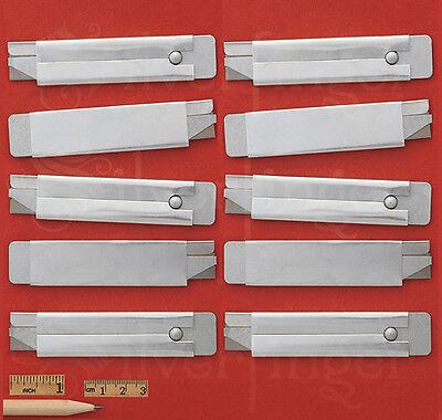 5—10—25—50 UTILITY KNIVES CARTON KNIFE BOX CUTTER SINGLE EDGE RAZOR BLADES STEEL