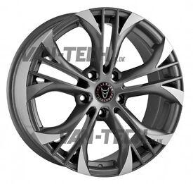 Wolfrace Assassin GT 18″ Gunmetal / Polished Alloy Wheels VW T5