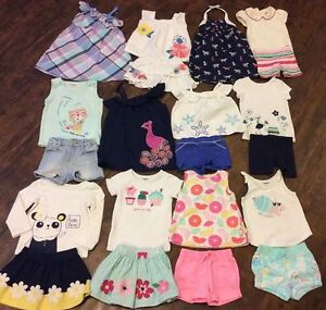 Huge Gymboree summer lot sz 18-24m-2T in excellent condition