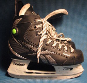 Reebok hockey skates $50 plus other skates, pants, pads