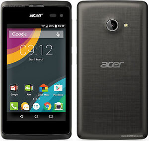 Mint Condition acer Liquid Z220 (Unlocked-Dual SimCard))-Black-
