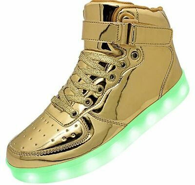 Big Kids size 3.5 Youth LED Light Up Sneakers Unisex
