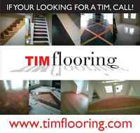 HARDWOOD ENGINEERING LAMINATE FLOORING & STAIRS