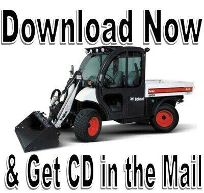 Bobcat 5610 Toolcat Utility Vehicle Service Manual On Cd
