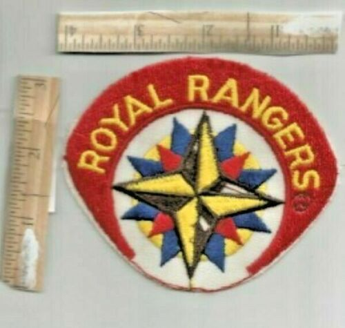 ROYAL RANGERS embroidery sew on PATCH