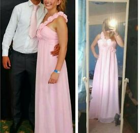 Beautiful Pink Evening/Prom Gown