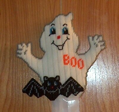 New Handmade Halloween Ghost & Bat Windsock or Door - Wall - Halloween Windsock