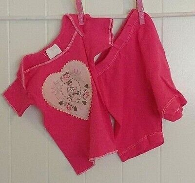Best Baby Boutiques (Best of Chums Infant Girl 6 M Sweetheart Pink Summer Short Shirt  Boutique)