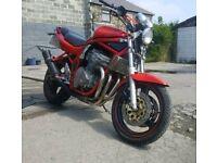 1998 Suzuki Bandit 600 SW orange 600cc a2 bike