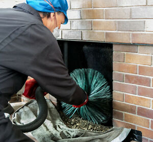 Fire Place Cleaning