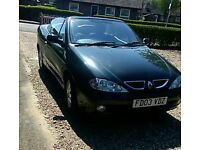 Automatic Renault megane convertible