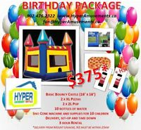 Bouncy Castle Birthday Party Packages