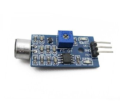 1pcs Sound Detection Sensor Module Sound Sensor Intelligent Vehicle For Arduino
