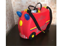 Red Freddie Trunki Ride On Suitcase,Roundhay