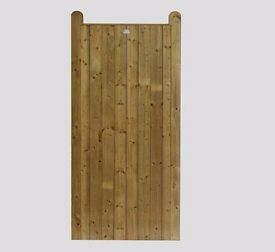 ELITE HORN TONGUE & GROOVE FULLY FRAMED HEAVY DUTY GARDEN GATE 6FT X 3FT ONLY £120.00 EACH