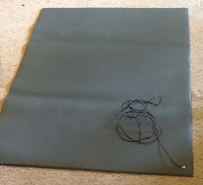 COMFORT-KING ANTI-STATIC MAT INCLUDES GROUND CORD 5965650 48x37 Gray Anti Static Comfort King Mat