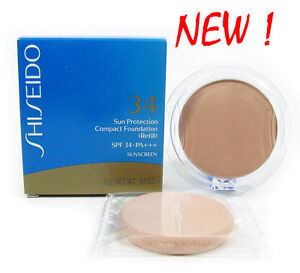 New Shiseido Sun Protection Compact Foundation Refill SPF 34 - SP10