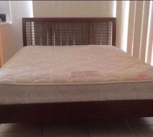 Queen bed frame with Mattress $225 Marsden Logan Area Preview