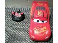 Cars 3 Lightning McQueen RC Turbo Racer Car
