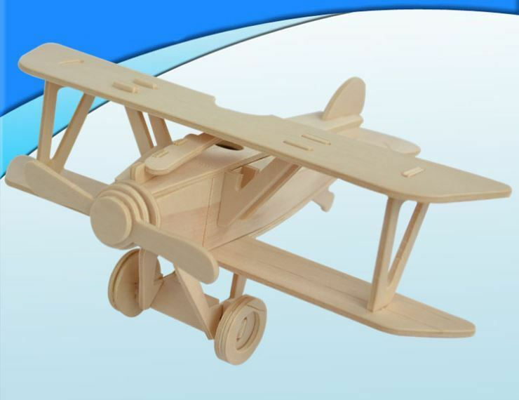 Wooden Jigsaw Puzzles Toy Train Airplane Wooden Nursery Kids Room Decor Educational Toy Baby Shower Gift