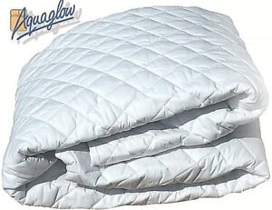 Waterbed Mattress Protector, Reversible, 100%Soft Cotton, Fully fitted,(5' x 7')