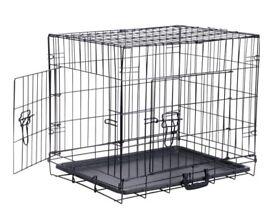Medium Dog Cage Used Once Still Have Box