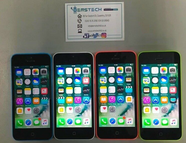 Apple iPhone 5C 16GB Unlocked Receipt Provided