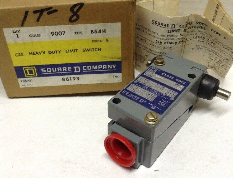Square D 9007 B54H Heavy Duty Limit Switch