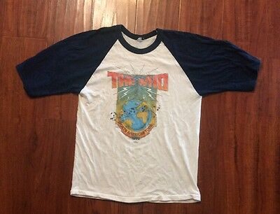 Vintage THE WHO T-Shirt Size Large