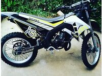 £800 gilera rcr 50cc road legal 50cc crosser style motorbike only done 4000 miles from new