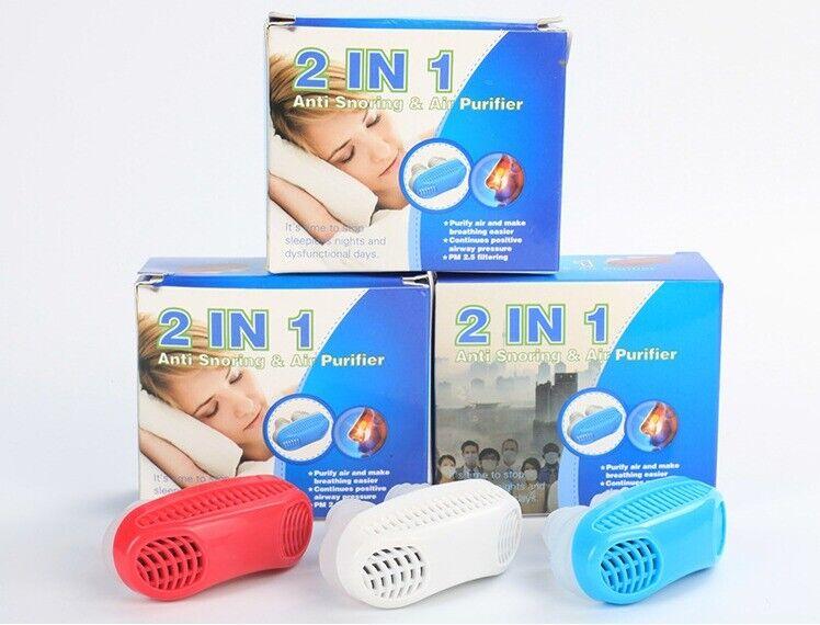 Anti Snore Nasal Dilators Apnea Aid Device Stop Snoring Nose Clip Silicone New
