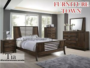 Tia solidwood 6pcs bed set for sale