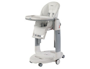 Peg-Perego-Tatamia-High-Chair-in-Latte-Brand-New