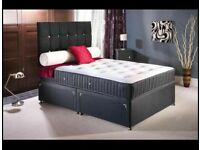BRAND NEW SINGLE/DOUBLE/KINGSIZE DIVAN BED WITH MEMORY FOAM +SPRUNG MATTRESS