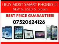 I will buy an Iphone or a Samsung smartphone.