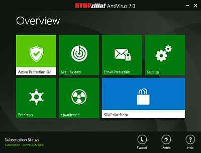 Stopzilla Anti Virus And Malware Spyware Removal Instant Download 1 Yr 1 Pc