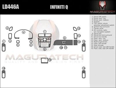 Fits Toyota Camry 2002-2004 With Navigation Large Premium Wood Dash Trim Kit