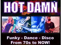 Wedding party band funky dance disco 70s to now!